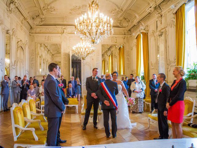 Le mariage de Sébastien et Myléne à Paris, Paris 19