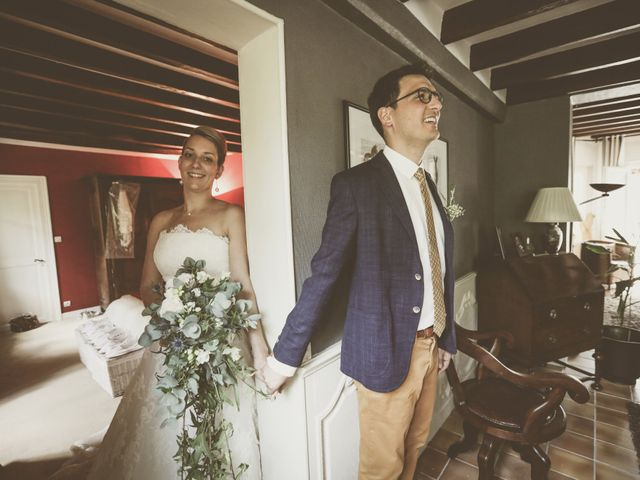 Le mariage de Thomas et Estelle à Saint-Viâtre, Loir-et-Cher 44