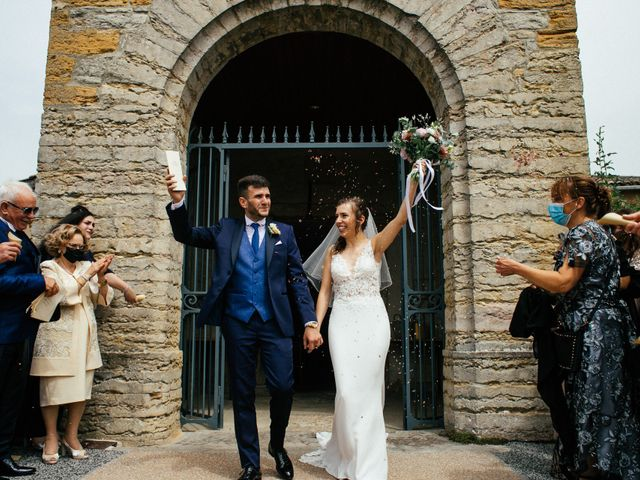 Le mariage de Nicolò et Léa à Neyron, Ain 14