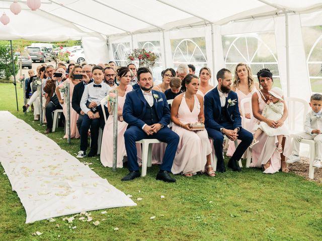 Le mariage de Yohan et Lauriane à Plasnes, Eure 68