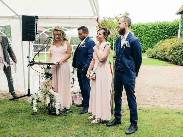 Le mariage de Yohan et Lauriane à Plasnes, Eure 72