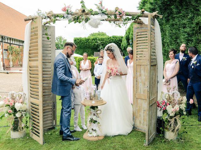 Le mariage de Yohan et Lauriane à Plasnes, Eure 77