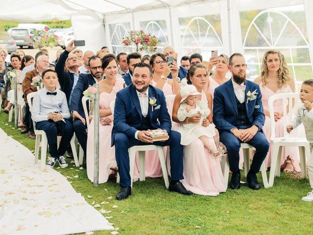 Le mariage de Yohan et Lauriane à Plasnes, Eure 83