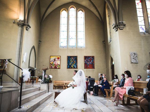 Le mariage de Davide et Julie à Gaillard, Haute-Savoie 44