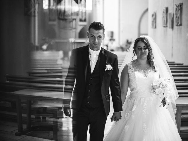 Le mariage de Davide et Julie à Gaillard, Haute-Savoie 61