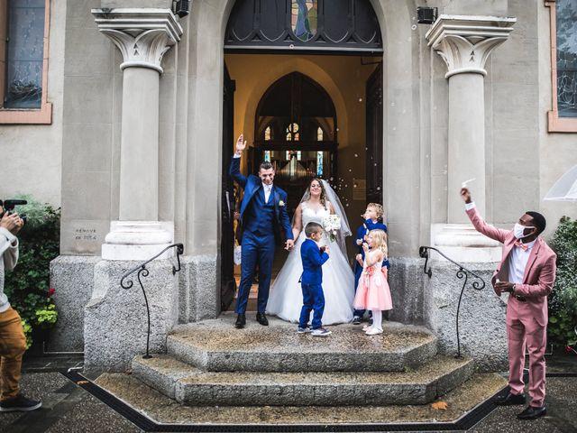 Le mariage de Davide et Julie à Gaillard, Haute-Savoie 62