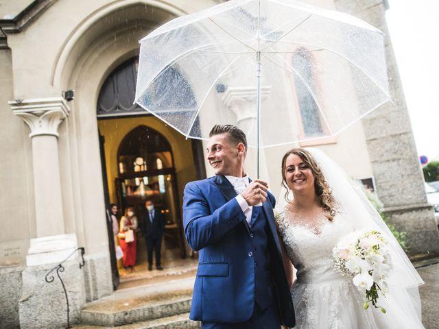 Le mariage de Davide et Julie à Gaillard, Haute-Savoie 64