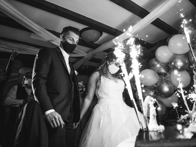 Le mariage de Davide et Julie à Gaillard, Haute-Savoie 103