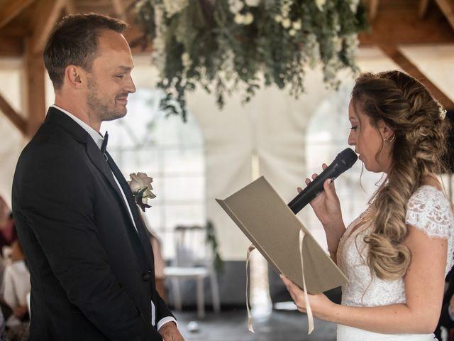 Le mariage de Fabian et Emilie à Campsegret, Dordogne 11