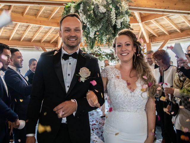 Le mariage de Fabian et Emilie à Campsegret, Dordogne 14