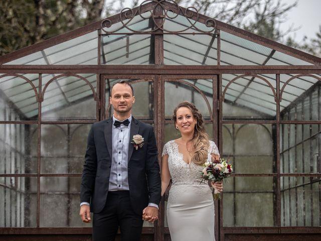 Le mariage de Fabian et Emilie à Campsegret, Dordogne 16