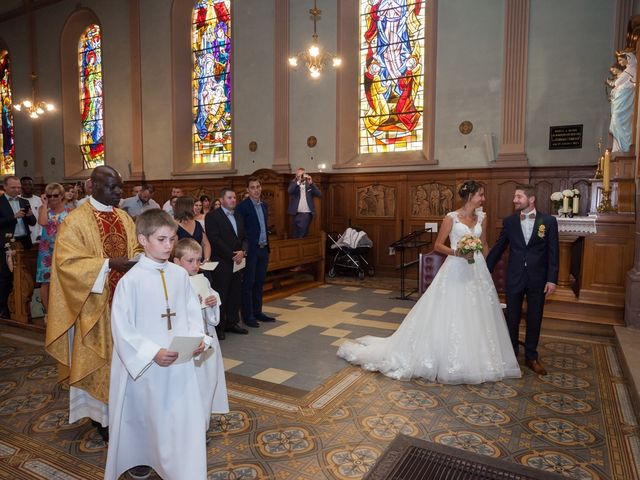 Le mariage de Jonathan et Hélène à Walschbronn, Moselle 45