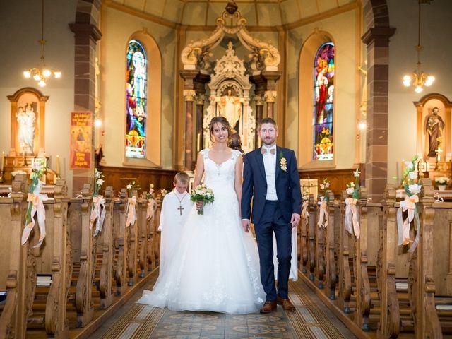 Le mariage de Jonathan et Hélène à Walschbronn, Moselle 66