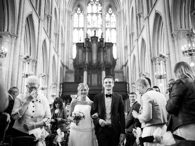 Le mariage de Justine et Jean-François