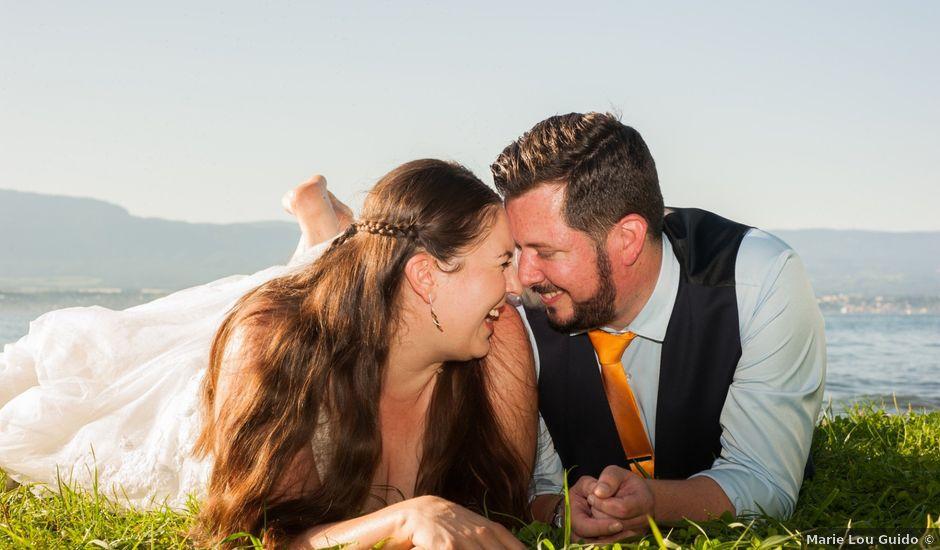 Le mariage de Jérémie et Claire à Vétraz-Monthoux, Haute-Savoie