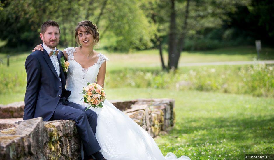 Le mariage de Jonathan et Hélène à Walschbronn, Moselle