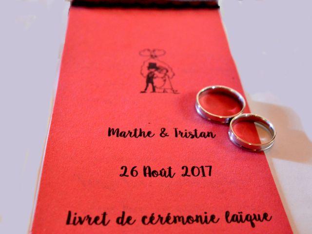 Le mariage de Tristan et Marthe à Sorges, Dordogne 10