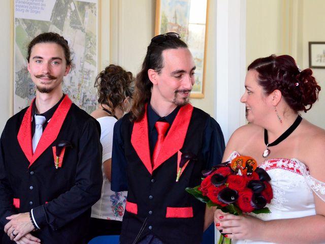Le mariage de Tristan et Marthe à Sorges, Dordogne 23