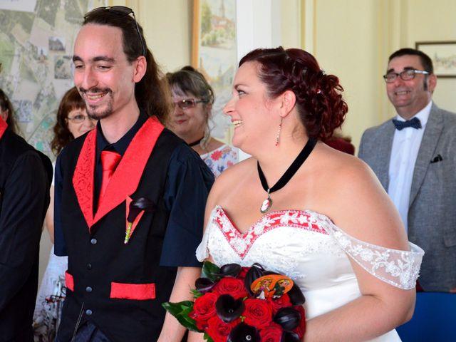Le mariage de Tristan et Marthe à Sorges, Dordogne 1