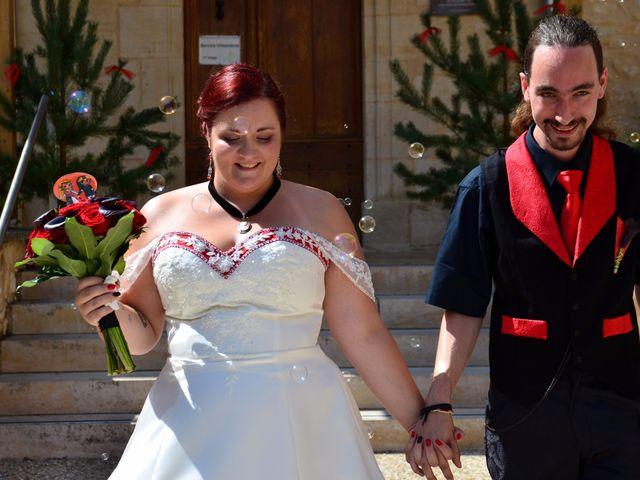Le mariage de Tristan et Marthe à Sorges, Dordogne 29