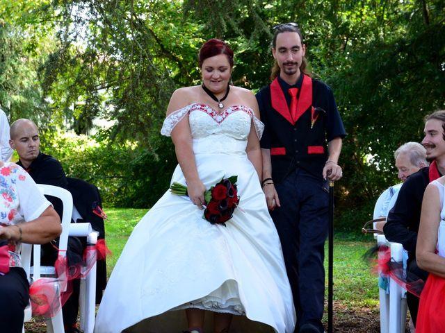 Le mariage de Tristan et Marthe à Sorges, Dordogne 34
