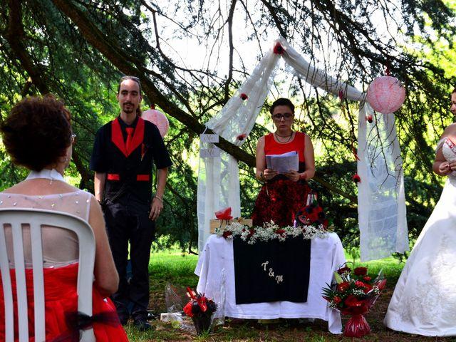 Le mariage de Tristan et Marthe à Sorges, Dordogne 37