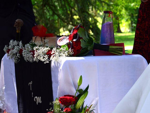 Le mariage de Tristan et Marthe à Sorges, Dordogne 40