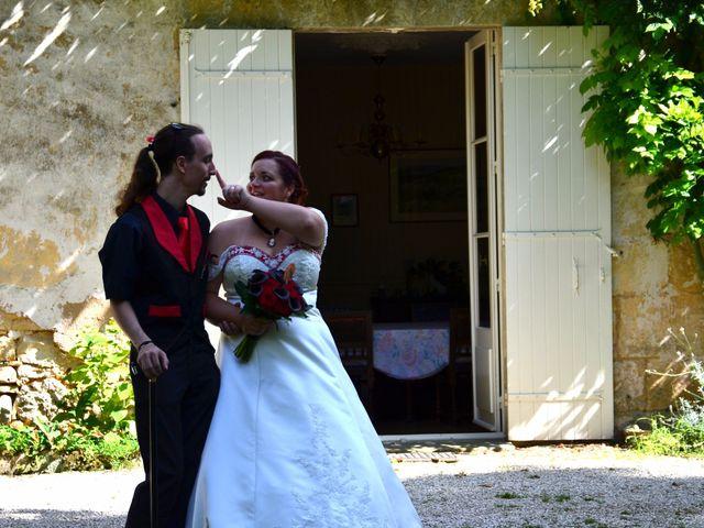 Le mariage de Tristan et Marthe à Sorges, Dordogne 50