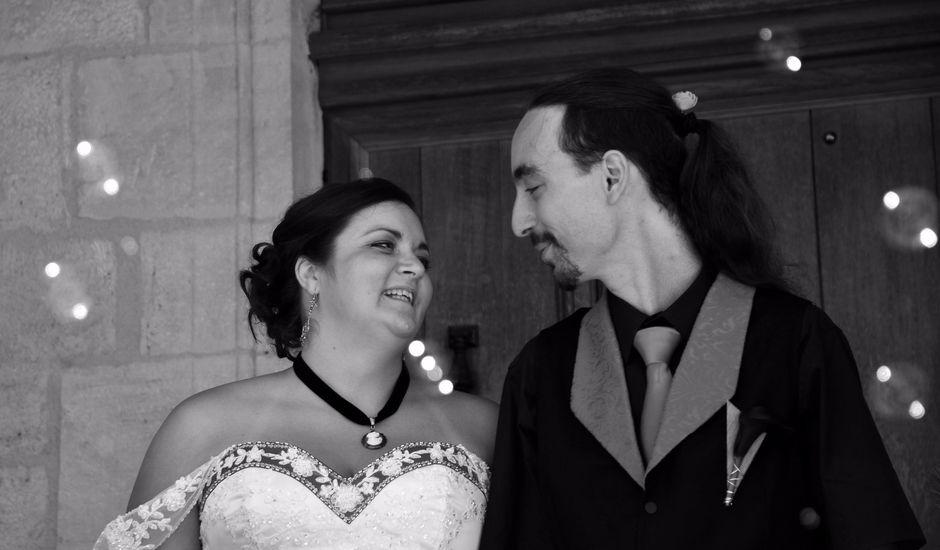 Le mariage de Tristan et Marthe à Sorges, Dordogne