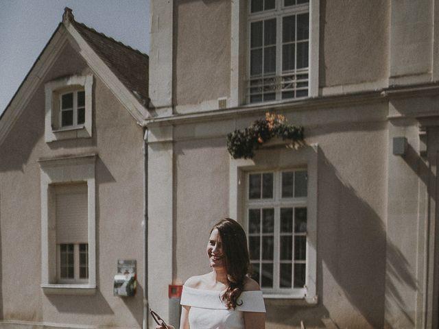 Le mariage de Matthieu et Julie à Saint-Jean-des-Mauvrets, Maine et Loire 7