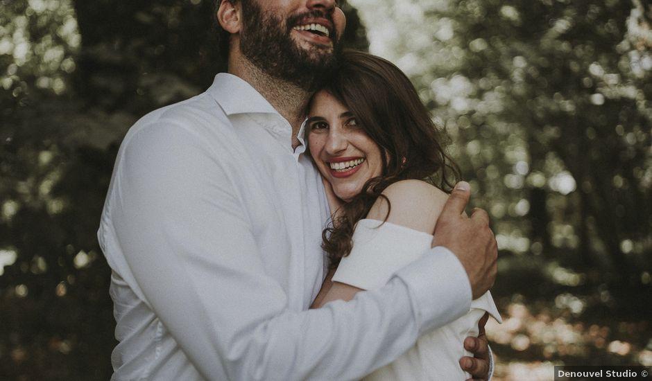 Le mariage de Matthieu et Julie à Saint-Jean-des-Mauvrets, Maine et Loire