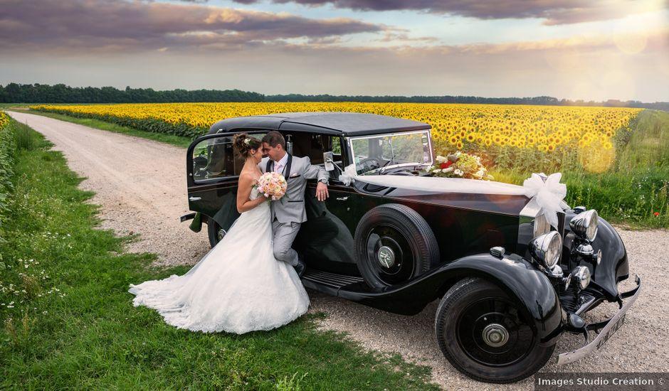 Le mariage de Lucie et Thomas à Saint-Denis-de l'Hôtel, Loiret