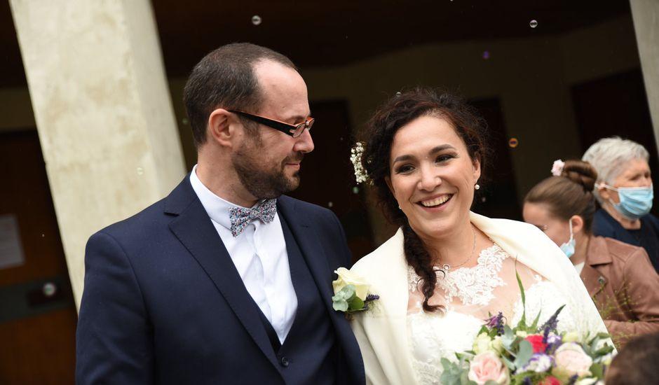 Le mariage de Grégoire et Costanza à Saint-Étienne, Loire