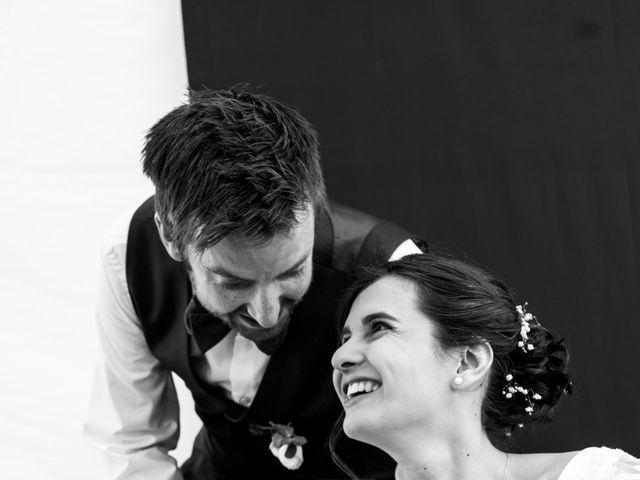 Le mariage de John et Marion à Lamoura, Jura 1
