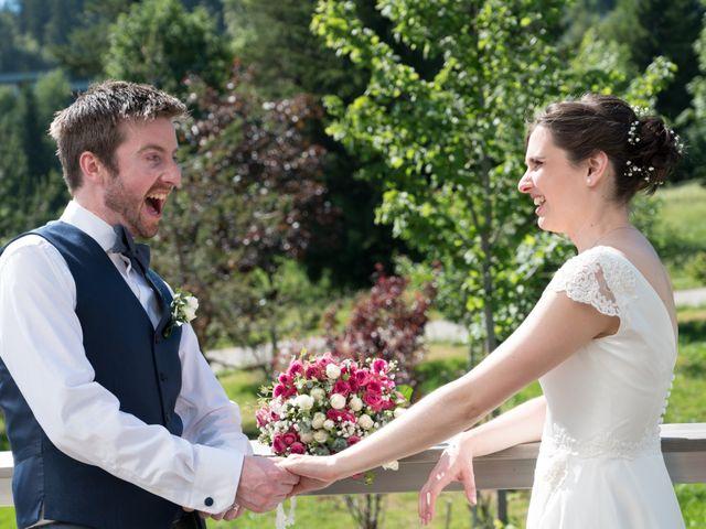 Le mariage de John et Marion à Lamoura, Jura 2
