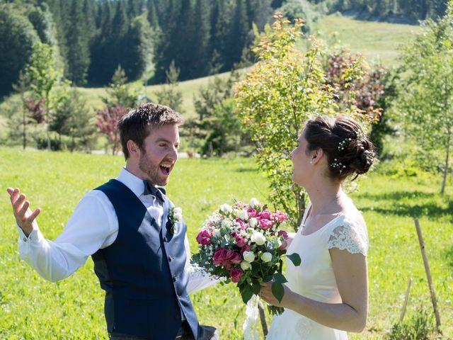 Le mariage de John et Marion à Lamoura, Jura 17