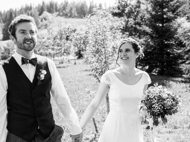 Le mariage de John et Marion à Lamoura, Jura 18