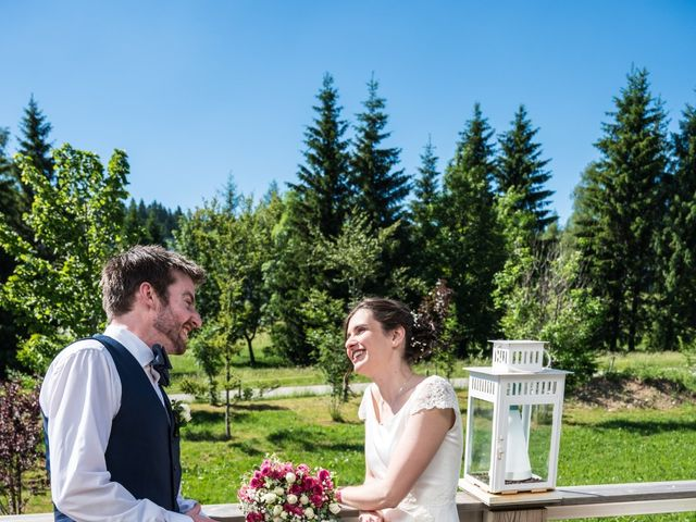 Le mariage de John et Marion à Lamoura, Jura 19