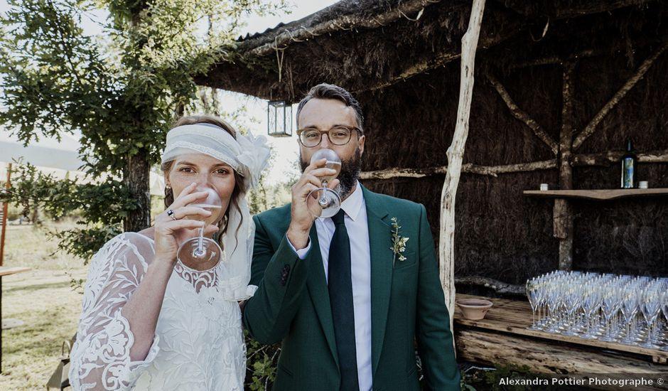 Le mariage de Gaetan et Marion à Saint-Julien-en-Born, Landes