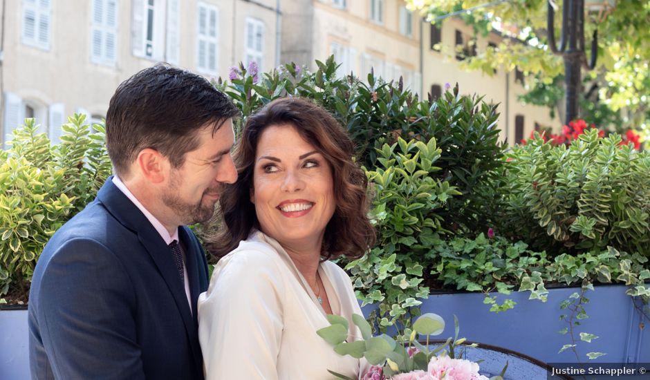 Le mariage de Tom et Jacqueline à Lorgues, Var