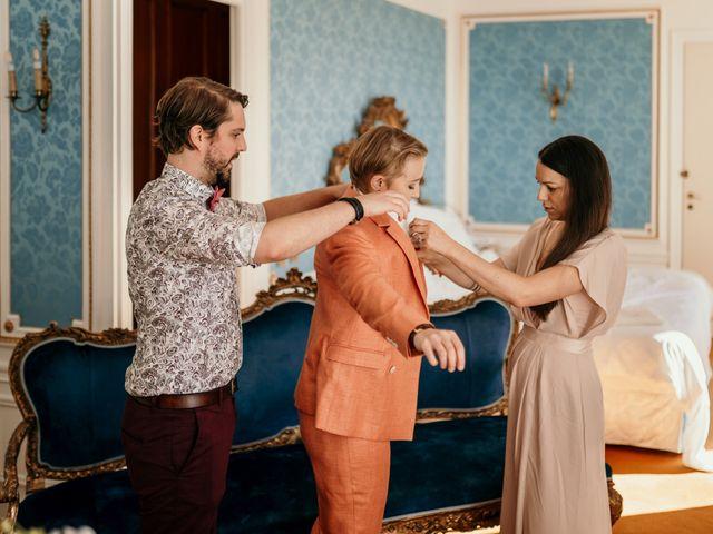 Le mariage de Julie et Ingrid à Villecroze, Var 12