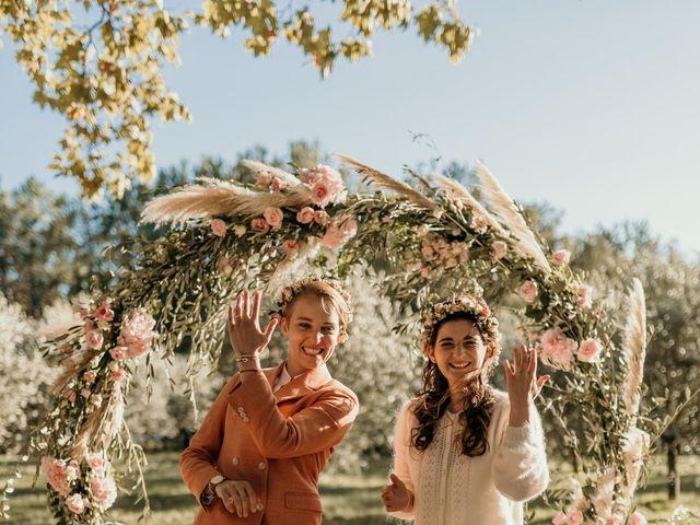 Le mariage de Julie et Ingrid à Villecroze, Var 93