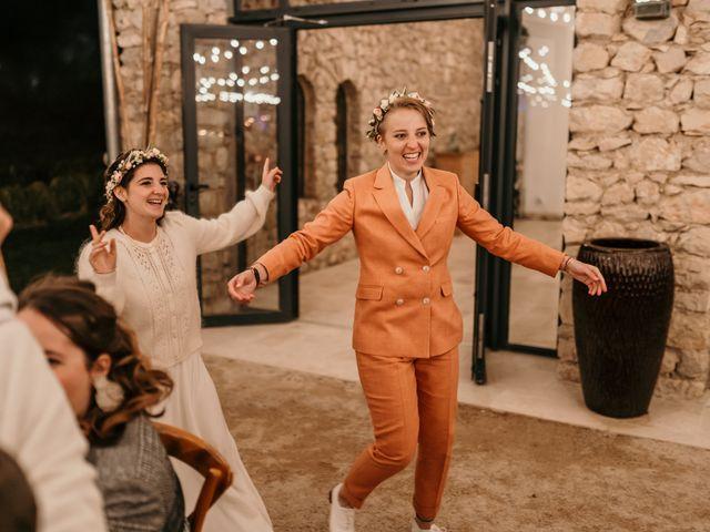 Le mariage de Julie et Ingrid à Villecroze, Var 116