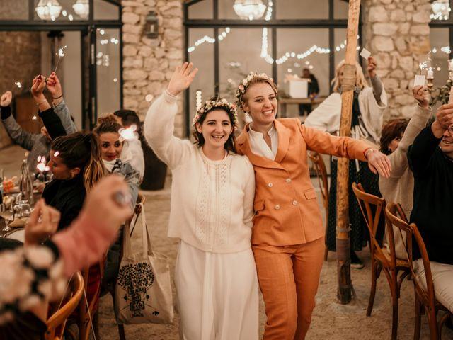 Le mariage de Julie et Ingrid à Villecroze, Var 118