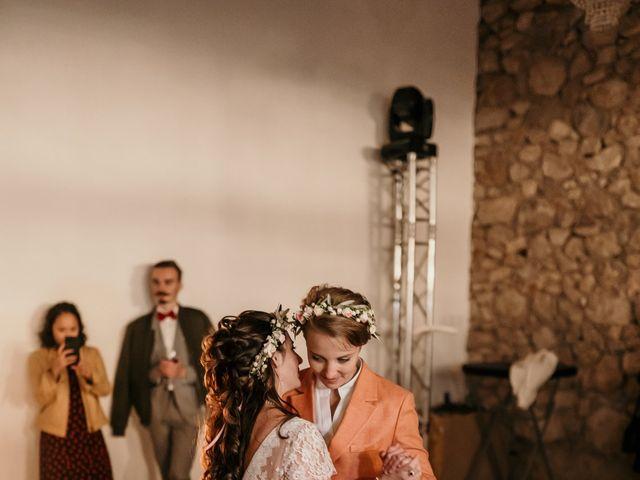 Le mariage de Julie et Ingrid à Villecroze, Var 119