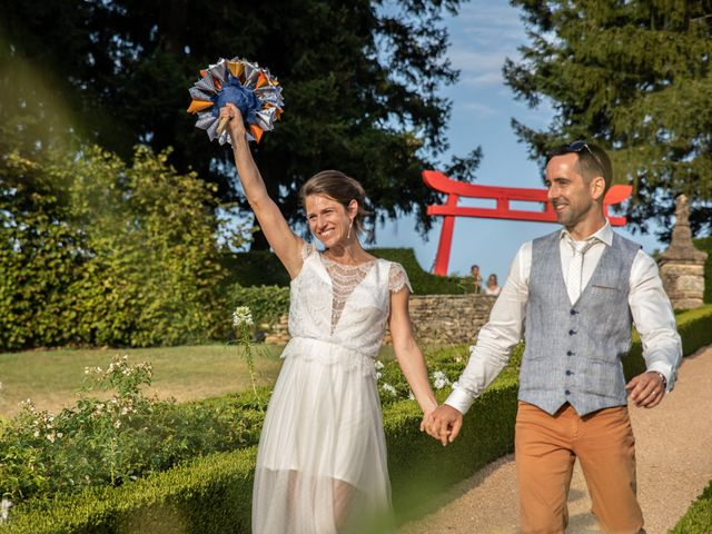 Le mariage de David et Laurène à Salignac-Eyvigues, Dordogne 13