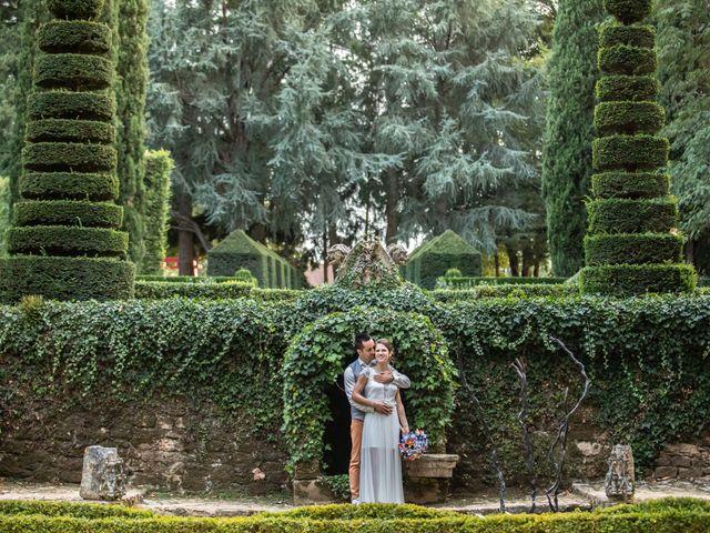 Le mariage de David et Laurène à Salignac-Eyvigues, Dordogne 22