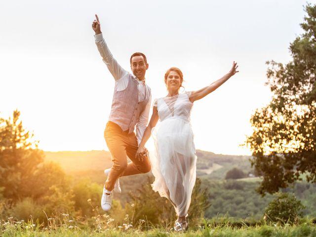 Le mariage de David et Laurène à Salignac-Eyvigues, Dordogne 27