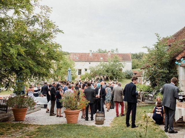Le mariage de Martin et Roxane à Cussay, Indre-et-Loire 36