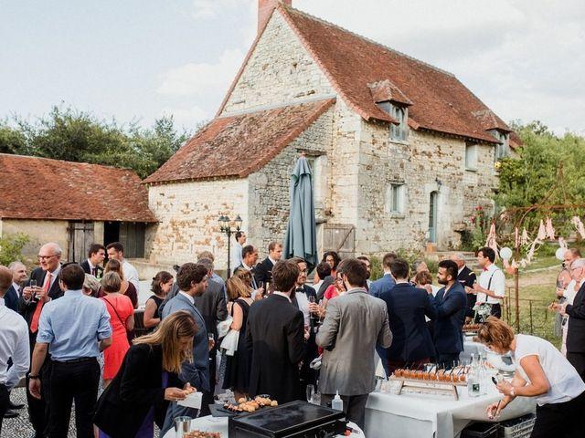 Le mariage de Martin et Roxane à Cussay, Indre-et-Loire 37